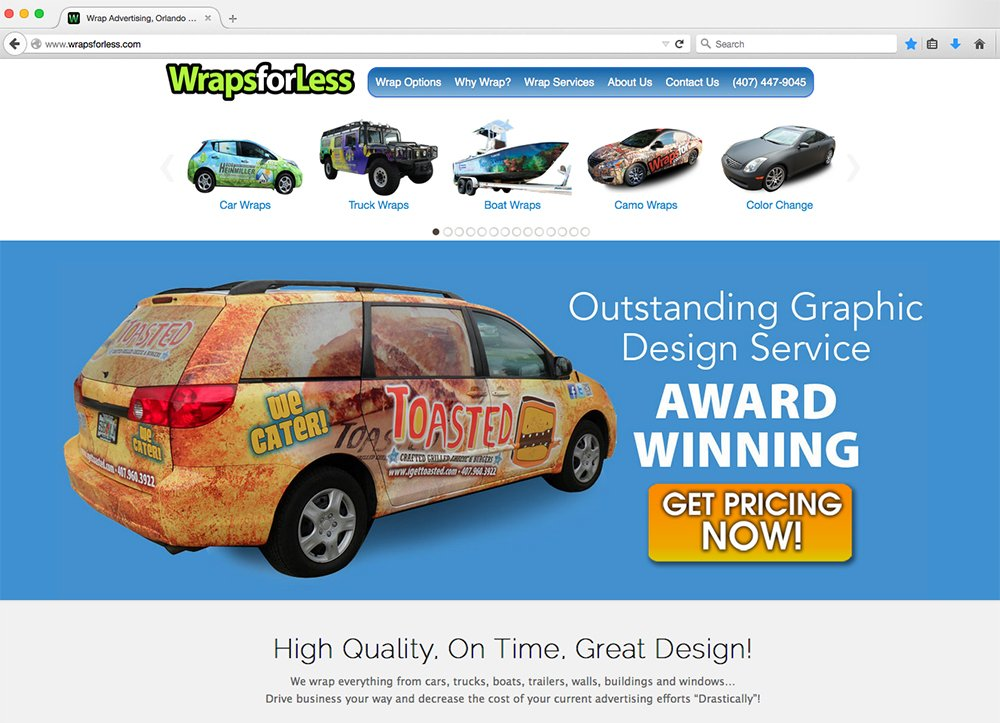 Wraps For Less Car Wraps