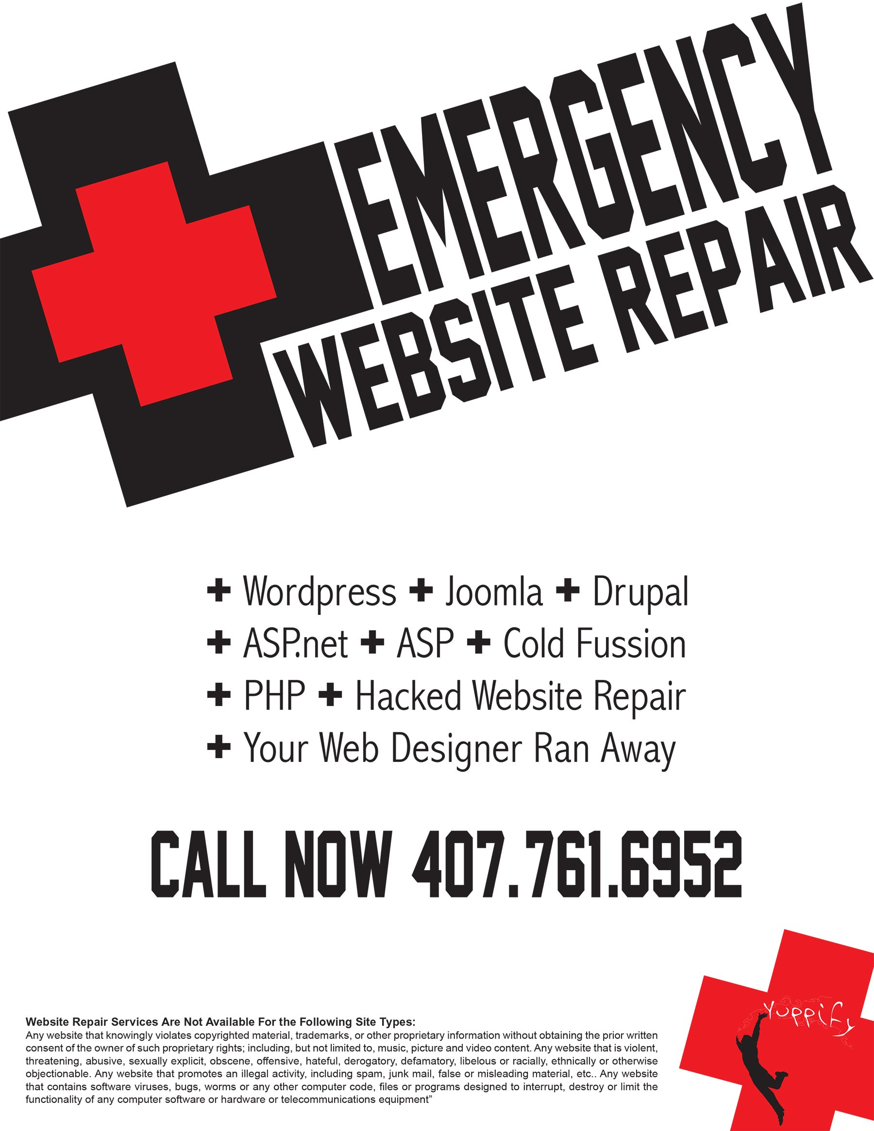 Emergency Website Repair